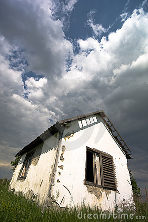 Small Old House, Photo by Jasenka. Photo found at www.Dreamstime.com