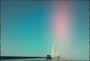 Digitally manipulated photos of the Charleston, South Carolina bridge by Holly Tierney-Bedord. All rights reserved.